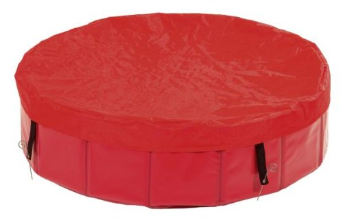 Karlie Flamingo 31892 Doggy Pool Cover 118 x 13 cm, rot