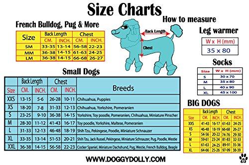 Doggy Dolly W070 Kapuzenshirt Tiger für Hunde, grün, Größe : M