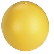 Kerbl 82274 Hundespielball aus Kunststoff, 30 cm, gelb