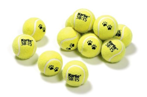 Karlie Flamingo 45634 Tennisball 12-er Set 6 cm 30 : 15